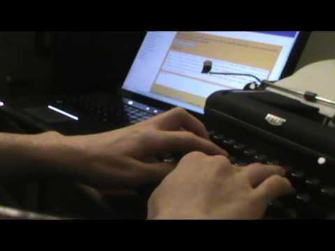 46 WPM on a 70-year-old Typewriter