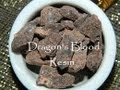 Dragons Blood resin yes and no's
