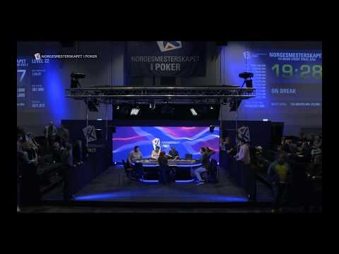 Håndanalyse   Leknes vs Raja   Poker NM Gardermoen 2017