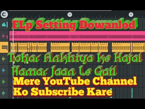 Tohar Ankhiya ke Kajal Hamar Jaan Le Gail DJ Song Flp Setting