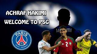 Achraf Hakimi ► Welcome To PSG - Crazy Skills, Goals \u0026 Assists | HD |