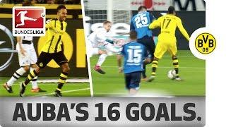 Aubameyang - All Goals So Far This Season