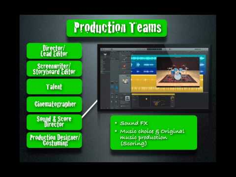 Indie Filmers Lesson 1 - Movie Production Process & First Film Assignment