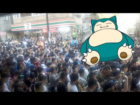 Massive Stampede In Taiwan Caused By Pokemon GO