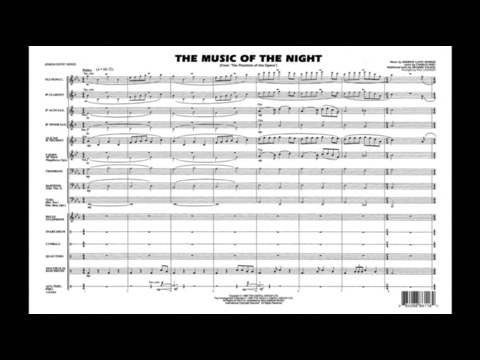 The Music of the Night by Andrew Lloyd Webber/arr. Paul Lavender