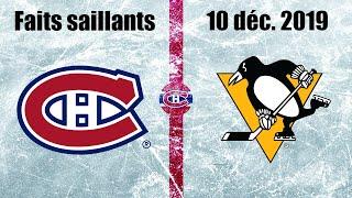 Canadiens Vs Penguins   Faits Saillants   10 Déc. 2019
