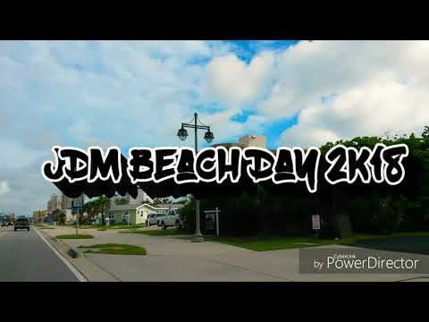 JDM Beach Day 2K18  (Daytona Beach)