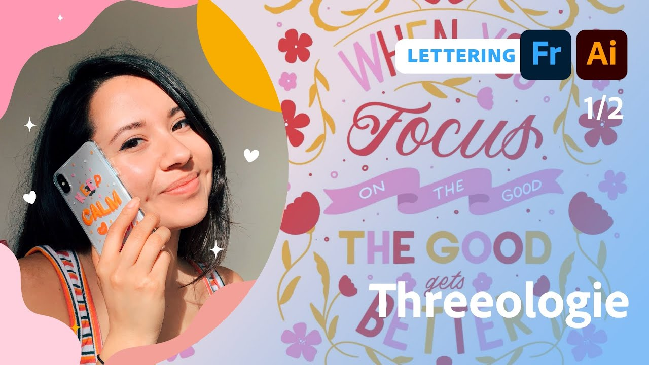 Designing a Custom Greeting Card with Threeologie  - 1 of 2
