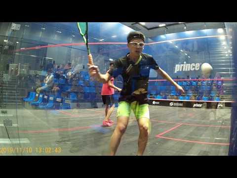 Prince Hong Kong Junior Squash Championships 2019, BU15 Finals 1/5