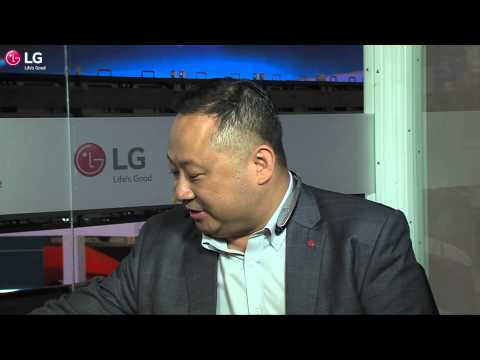 IFA 2015 - TechLounge - Day 2 - LG Electronics - Ken Hong