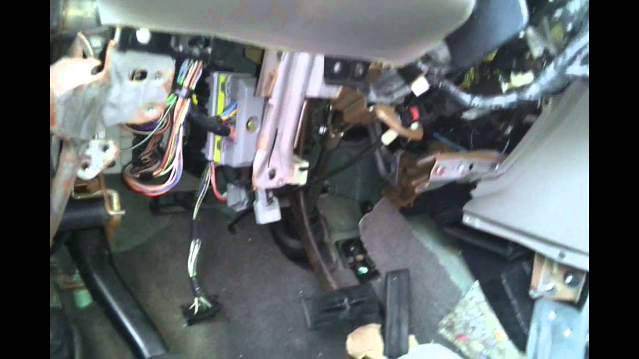 2001 dodge caravan interior fuse box location