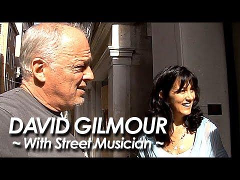 PINK FLOYD:DAVID GILMOUR 『Shine On You Crazy Diamond ~With Street Musician~』by miu JAPAN