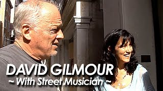 PINK FLOYD:DAVID GILMOUR 『Shine On You Crazy Diamond ~With Street Musician~』by miu JAPAN