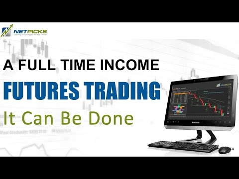 How to Create a Full-Time Income Day Trading Futures