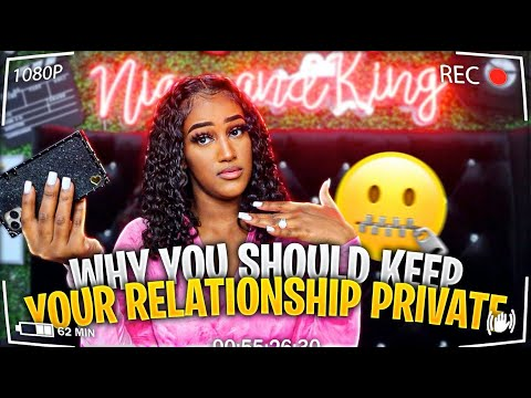 GIRLS TALK: KEEPING YOUR RELATIONSHIP PROBLEMS PRIVATE!!!(Off Social media)