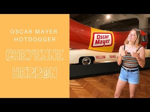 Jo Mercer - Drive the Oscar Mayer Weinermobile! Paid Job!