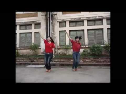 """Dạy nhảy """" Tôi yêu Việt Nam"""