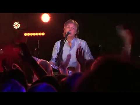 Paul McCartney returns to play Beatles' Liverpool club
