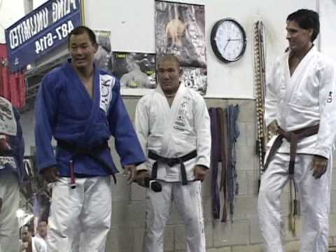 BJJ BLACK BELT FROM EGAN INOUE- 2006