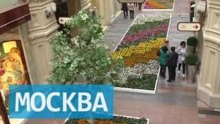 видео Фестиваль мороженного и цветов в Москве летом 2016 года