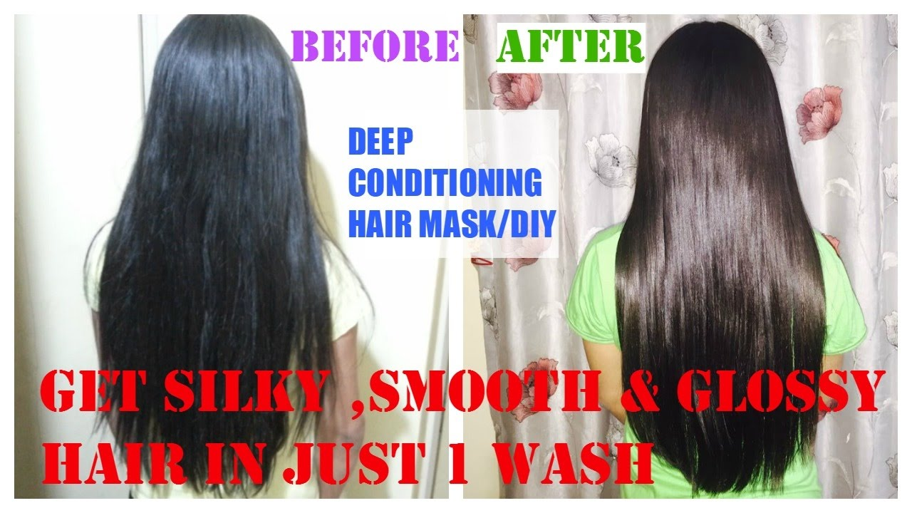 How To Get Silky Smooth N Straight Hair In One Wash Superstylish