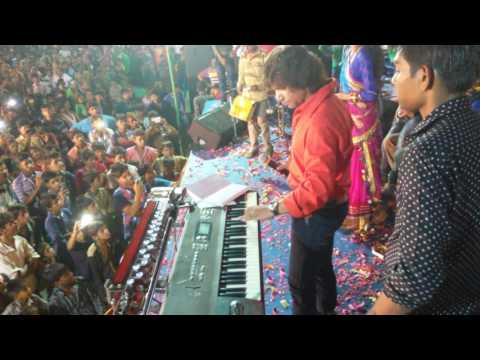 Vikram Thakor live flute  song .2016