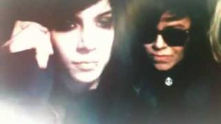 Andy Biersack on stickam with Sandra Alva