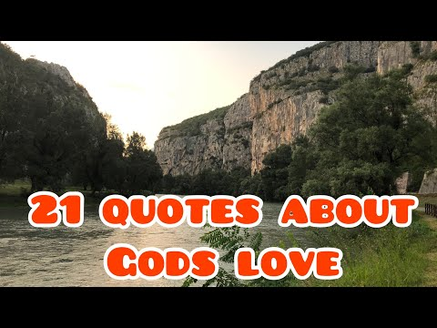 21 Quotes About Gods Love.