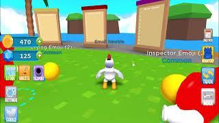 A GAME OF EMOJI'S!! | Emoji Simulator | Roblox