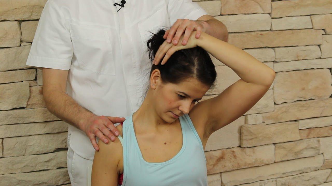 Trapézový sval uvolnění