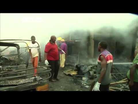 Twin Car Bombs In Nigeria City Of Jos