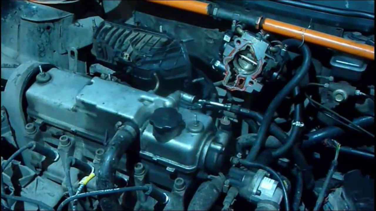 ошибка ЭБУ 0171 на инжекторе ВАЗ 2111