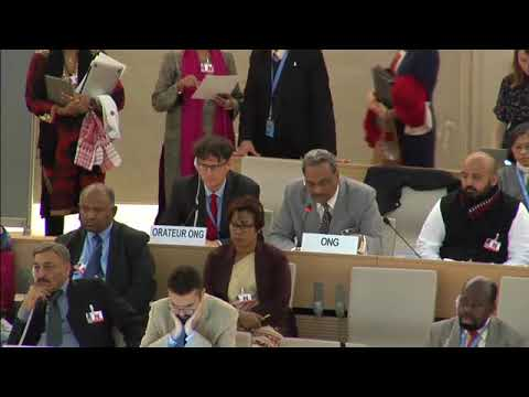 UN Live United Nations Web TV   Human Rights Council   India, UPR Report Consideration   24th Meetin