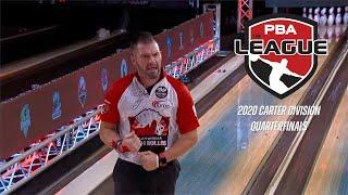 2020 PBA League 2 of 6 | Carter Division Quarterfinals | Full PBA Bowling Telecast