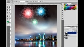 """How to Make Fireworks With Photoshop"""