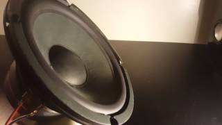 Yamaha yst-sw45 Free Air Subwoofer Excursion