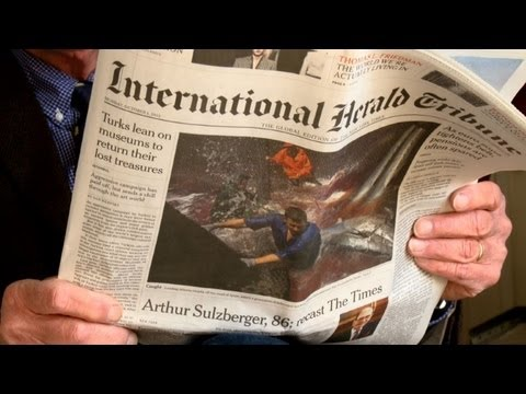 The International Herald Tribune: 125 ans de journalisme