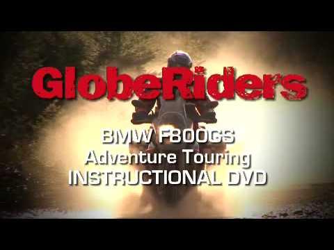 GlobeRiders BMW F800GS Adventure Touring Instructional DVD Trailer