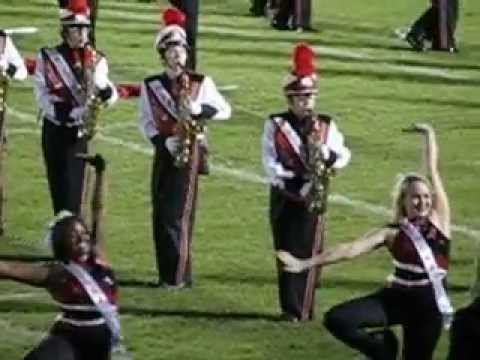 Bloomingdale Senior High School, Ragin' Bull Marching Band.... Mad Dash To Perform SWAY.... 101812