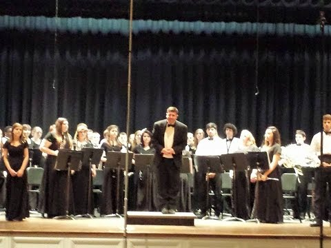 Banks County High School Symphonic Band @ Jefferson HS, 2015 (LGPE)