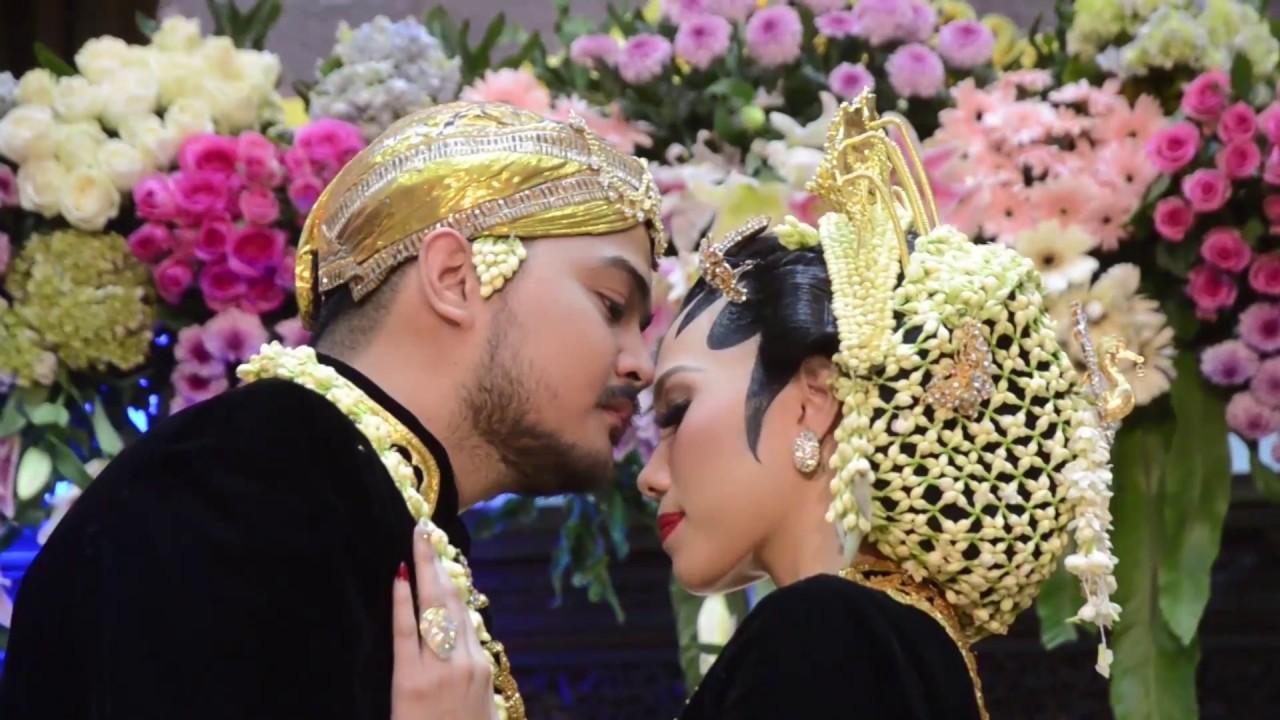 wedding video resepsi pernikahan adat jawa gedung