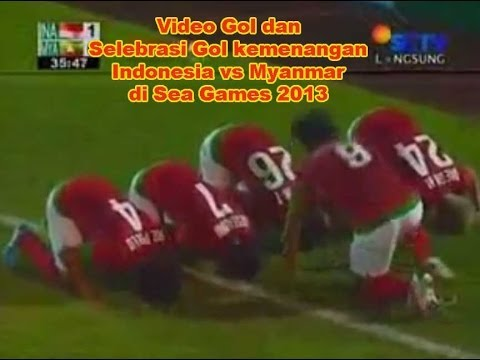 Video Indonesia vs Myanmar 1-0 @ Sea Games 2013 - 16 Desember 2013