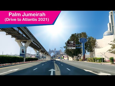 Palm Jumeirah Drive to Atlantis – Dubai