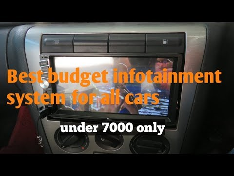 Best car stereo infotainment system for all cars.under 7000 rs.my tvs tav 40.user review.