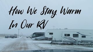 How To Stay Warm In Your RV and Protect It In The Cold
