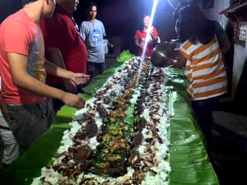 mac's bday :) boodle fight