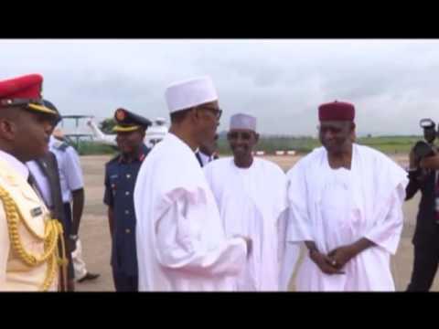 President Buhari Depart For Chad