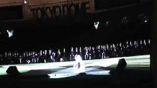 【2014巨人阪神開幕戦】 二山治雄さんによるバレエ演技