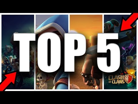 TOP 5 🖐️ GAMES LIKE - CLASH OF CLANS | 2018