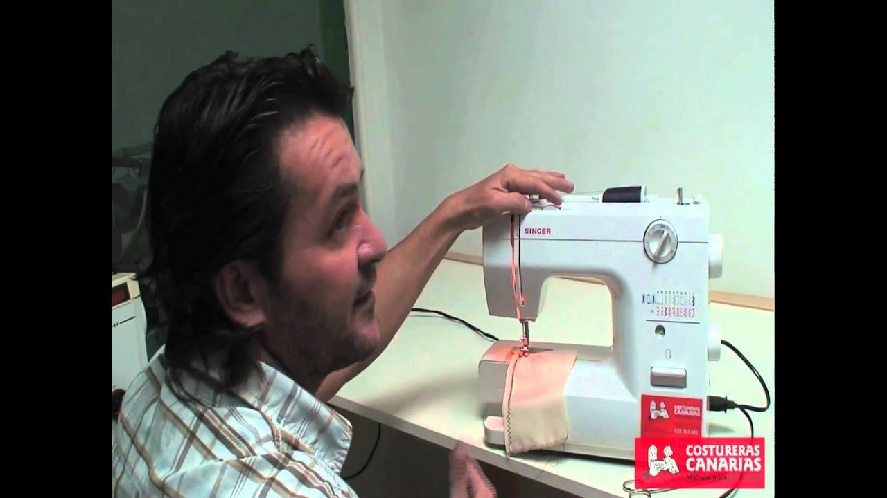 Enhebrado , regular tensiones y trucos maquinas de coser